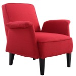 Giantex Modern Upholstered Accent Occasional Chair