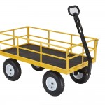 Gorilla Carts Heavy Duty Steel Utility Cart