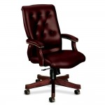 HON 6540 Series Vinyl Executive High Back Chair