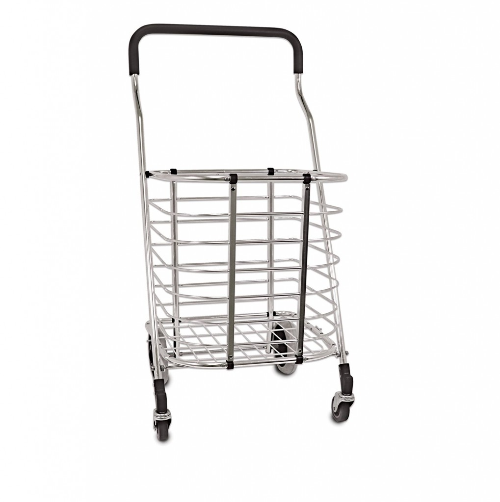 Homz Premium Shopping Tote Cart