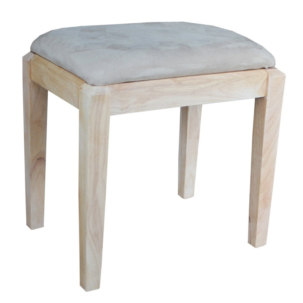 International Concepts Unfinished Vanity Bench