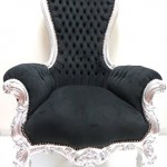 Majestic King Throne Chair Original Silver