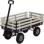 Strongway Garden Wagon With Rails