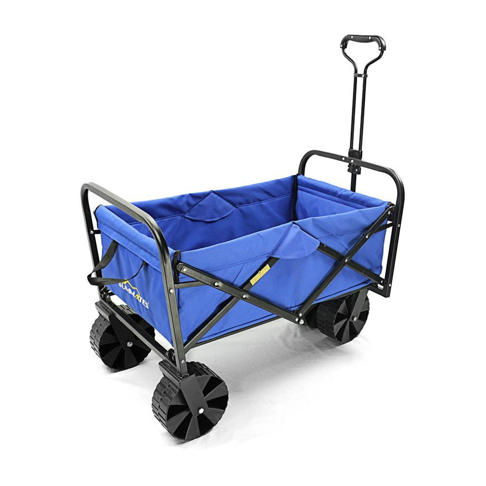 Summates Collapsible Folding Utility Wagon