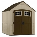 Sutton 7 Ft. 3 In. X 7 Ft. 4.5 In. Resin Storage Shed