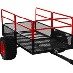 Yutrax TX158 Trail Warrior X2 ATV Utility Trailer