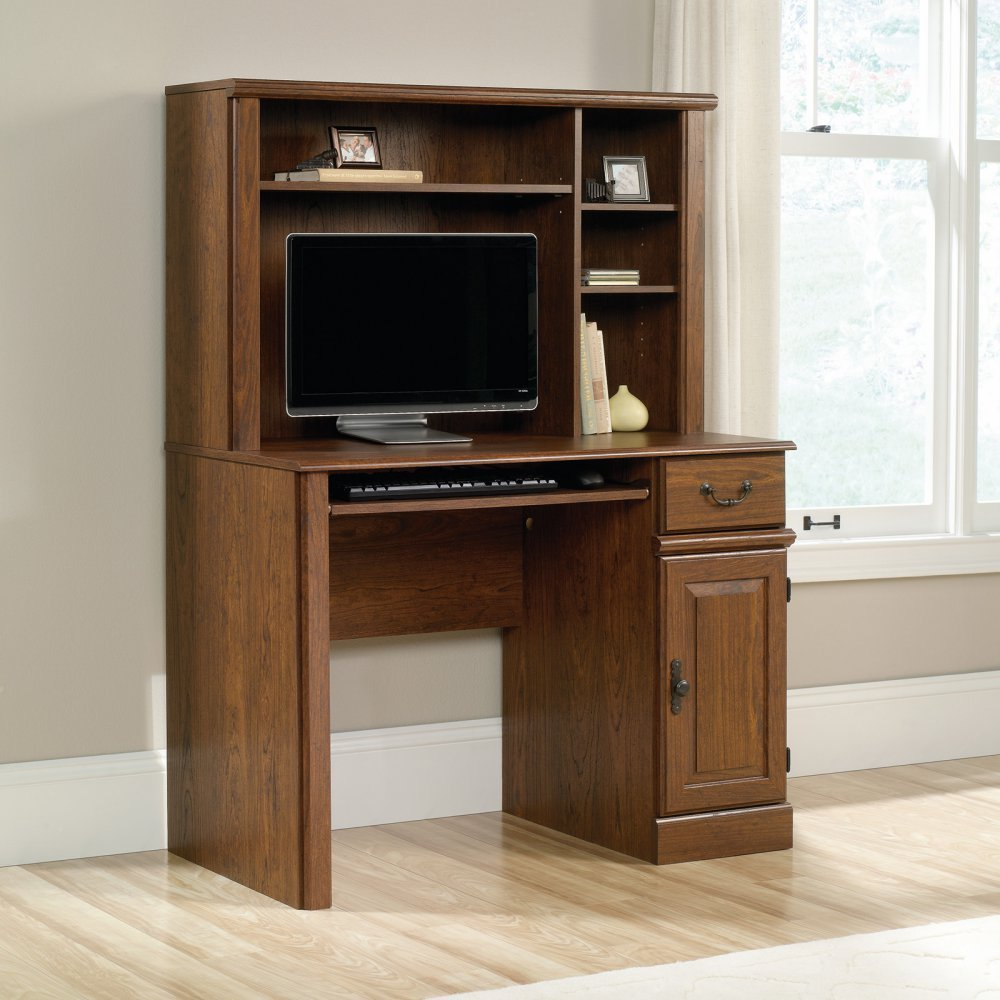 Cherry Desk With Hutch