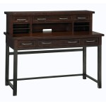 Executive Desk With Hutch
