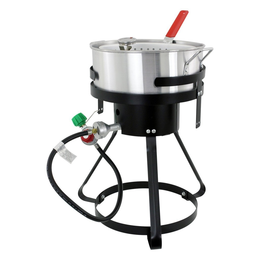 Fish Fryer Pot And Basket