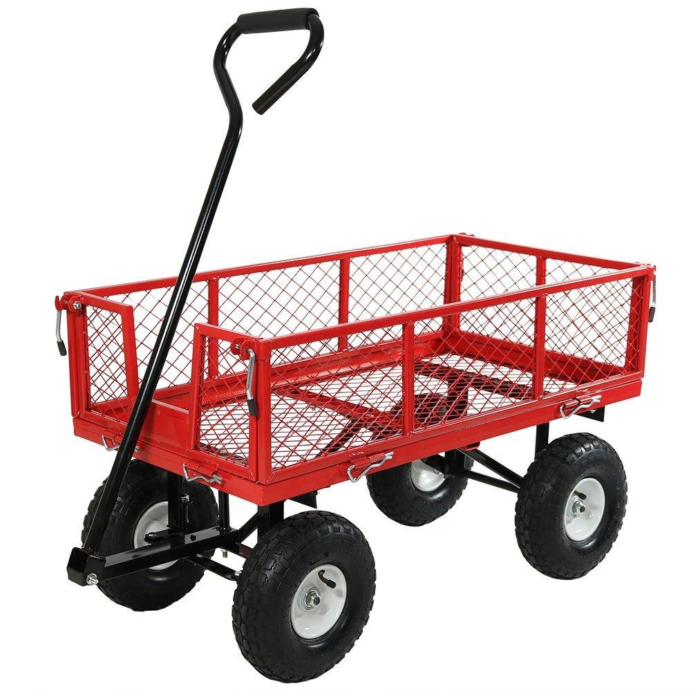 Metal Garden Cart