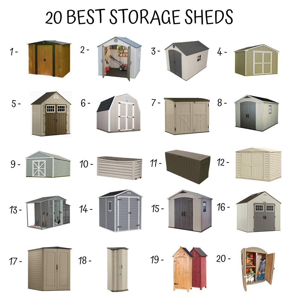 20 Best Storage Sheds