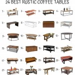 24 Best Rustic Coffee Tables
