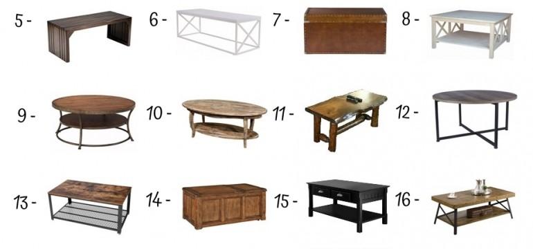 24 Best Rustic Coffee Tables
