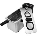 Chef Buddy Stainless Steel Electric Deep Fryer
