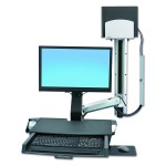 Ergotron 45270026 StyleView Sit Stand Combo