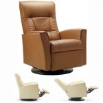 Fjords Ulstein Swing Relaxer Recliner Norwegian Reclining Chair