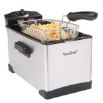 VonShef Stainless Steel Deep Fryer