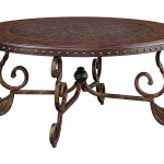 Metal Round Coffee Table
