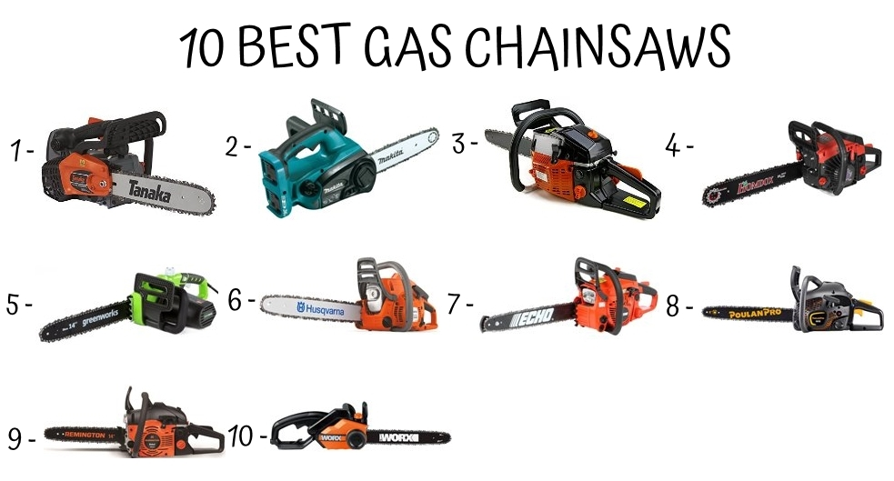 10 Best Gas Chainsaws