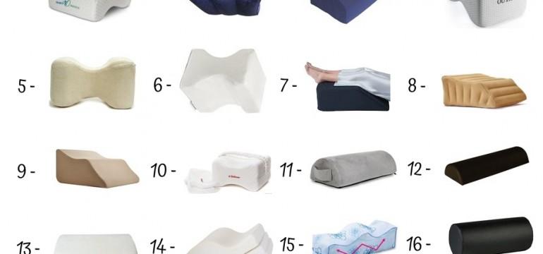 20 Best Leg Pillows Under 50$