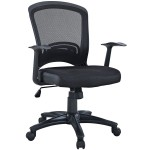 Leo Task Black Mesh Office Chair