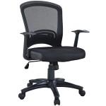 Leo Task Black Mesh Office Chair