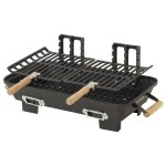 Marsh Allen 30052AMZ Kay Home Product's Cast Iron Hibachi Charcoal Grill