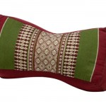 My Zen Home Neck Pillow, Army Red