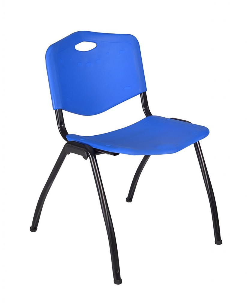 Regency M Stack Chair, Blue