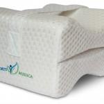 Sports Medica Memory Foam Pillow With Leg Strap