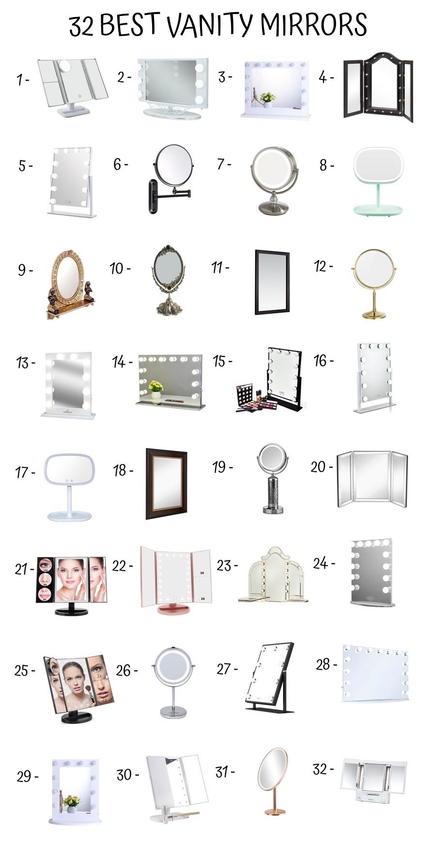 32 Best Vanity Mirrors