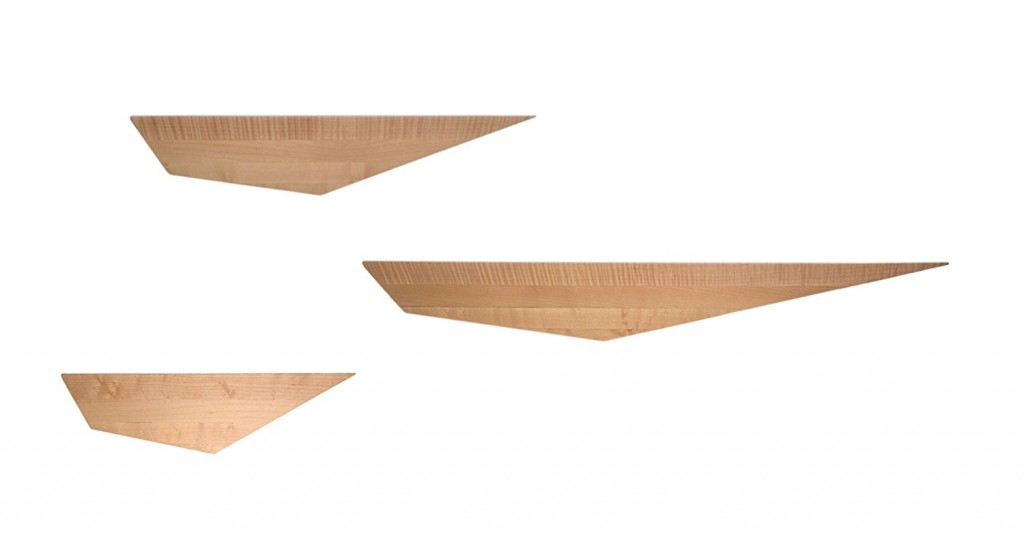 David Hsu Design Peliship Floating Shelves