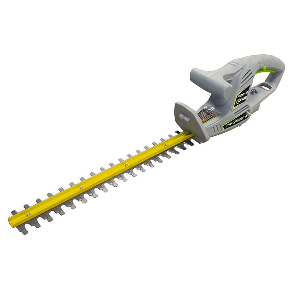 Earthwise HT10017 17 Inch 2.8 Amp Corded Electric Hedge Trimmer