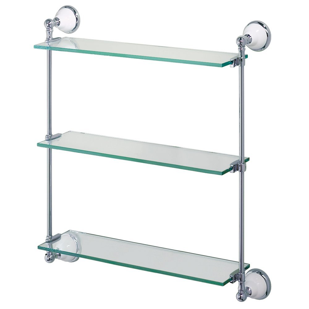 Gatco 1395 Franciscan Premier Glass Shelf