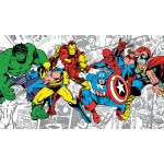 RoomMates JL1291M Ultra Strippable Marvel Classics Character Mural