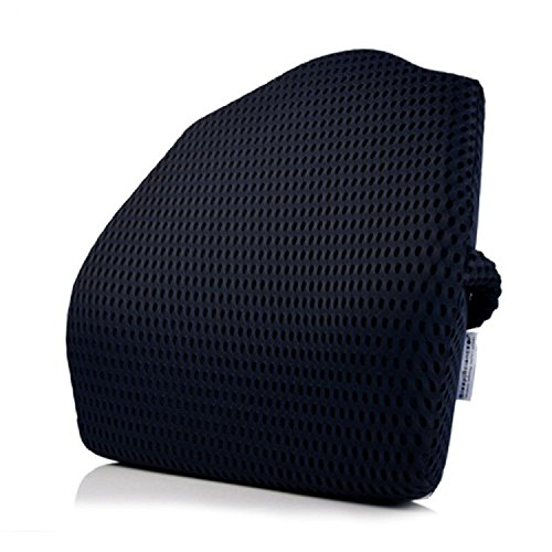 Sleep Science Memory Foam Lumbar Back Support Alleviate Lower Lumbar Back Pai