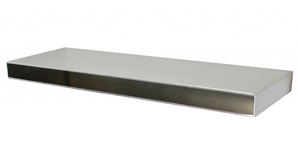 Stainless Supply 304 Stainless Steel Floating Shelf