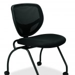 Basyx By HON Guest Chair Mesh Stacking Chairs