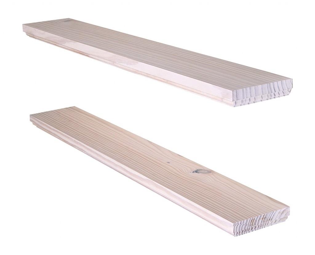 Floating Wall Shelves White