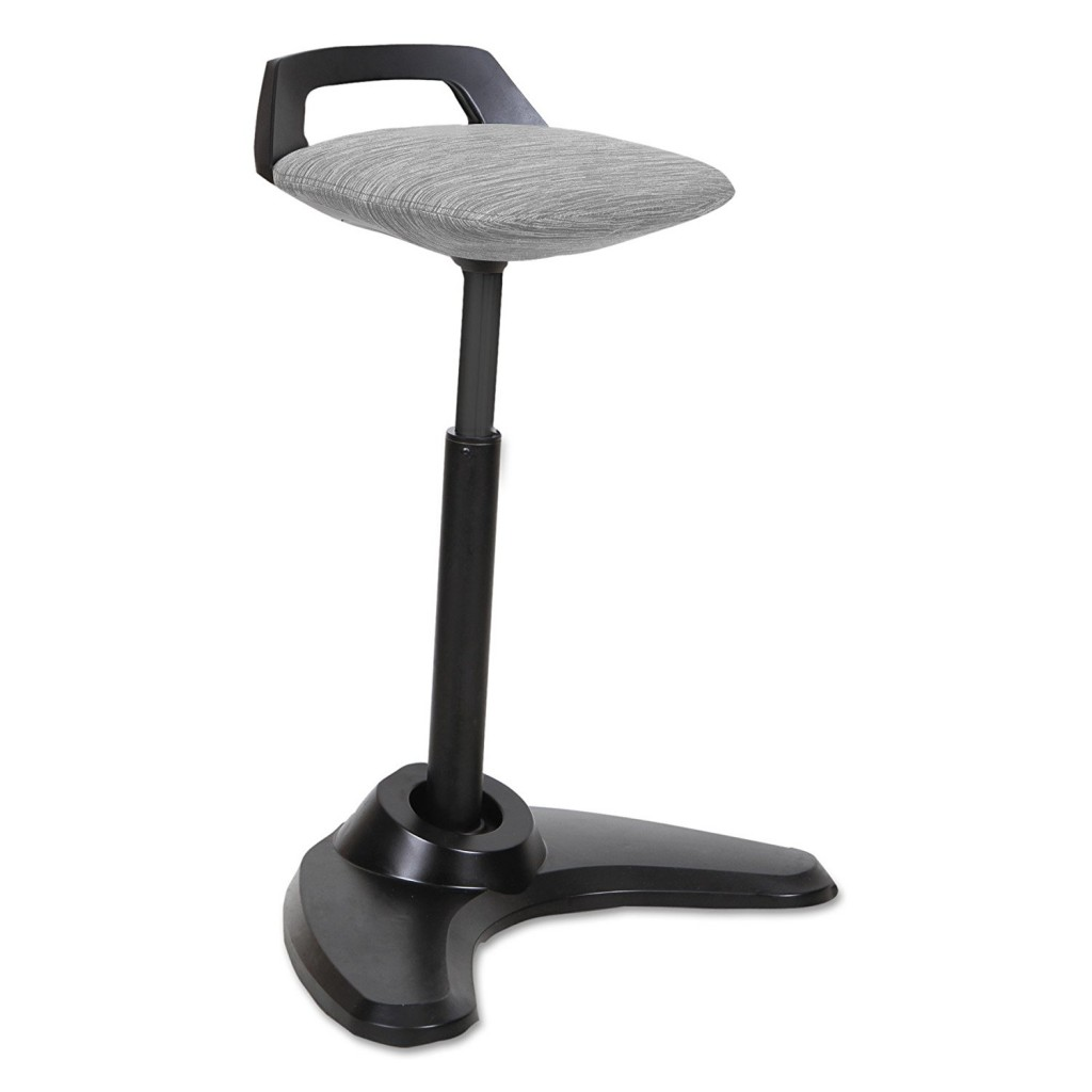 Alera ALEAE35PSGR AdaptivErgo Sit To Stand Perch Stool