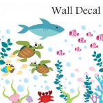 Aquarium Wall Decal Under The Sea