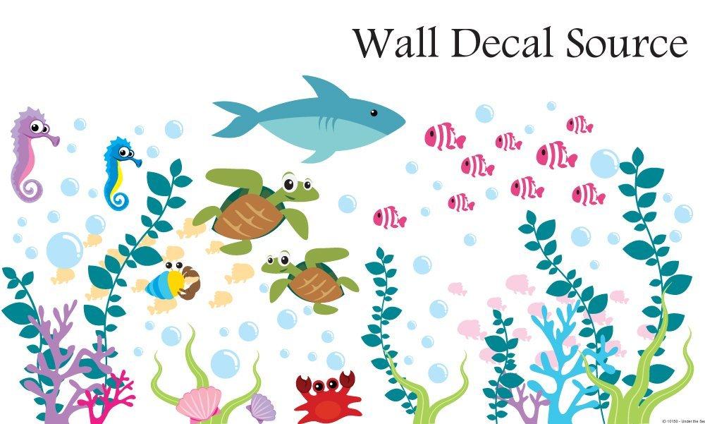 Aquarium Wall Decal Under The Sea