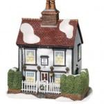 Department 56 Dickens' Village Chalk Cottage Lit House