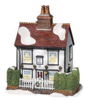 Department 56 Dickens' Village Chalk Cottage Lit House