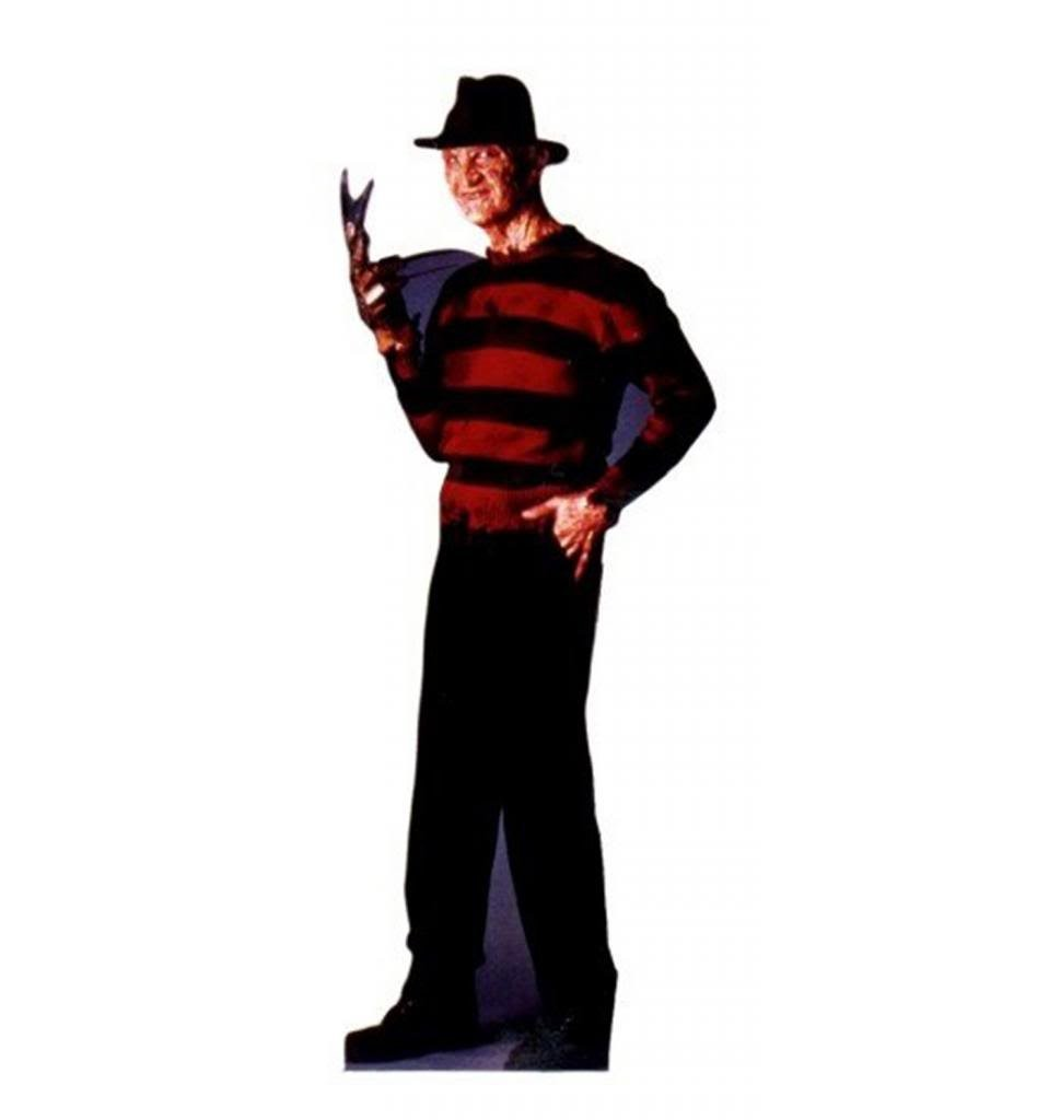 Freddy Krueger A Nightmare On Elm Street Advanced Graphics Life Size Cardboard Standup