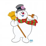 Frosty The Snowman Advanced Graphics Life Size Cardboard Standup