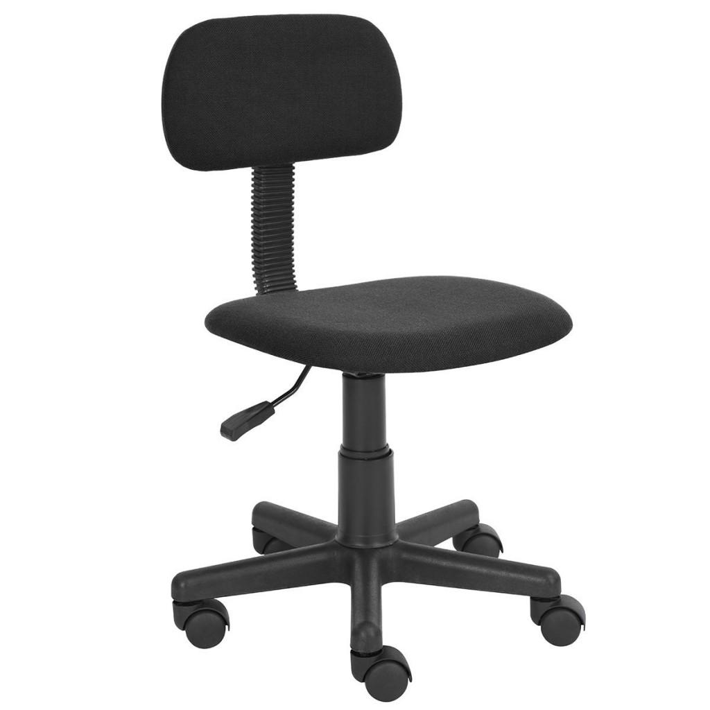 Homycasa Armless Swivel Office Mesh Computer Desk Chair
