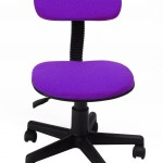 Homycasa Mid Back Purple Mesh Computer Chair
