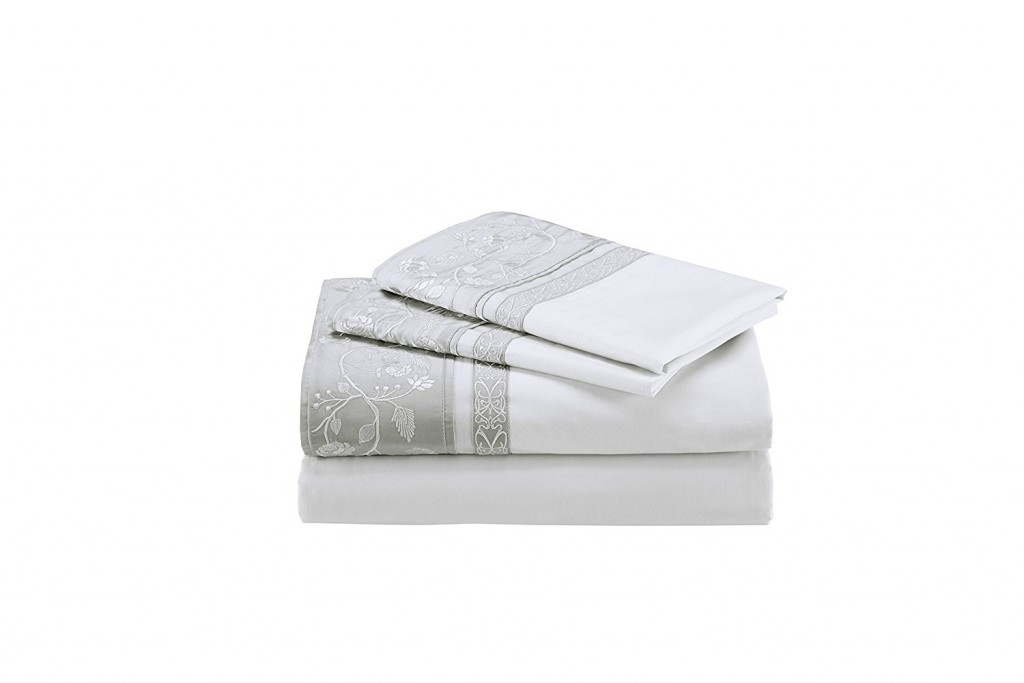 Natori Madame Ning 400 Thread Count Flat Sheet