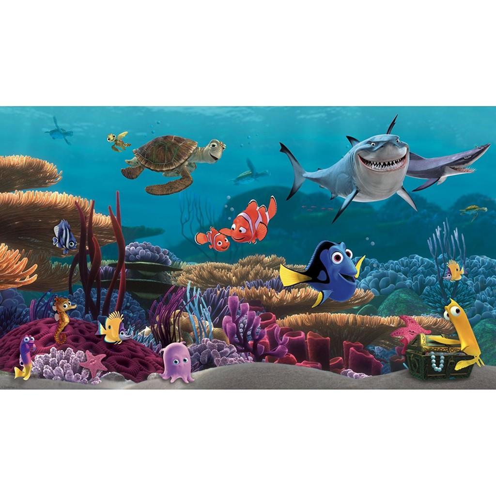 RoomMates JL1278M Finding Nemo Prepasted Mural